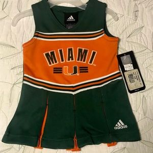 University of Miami Hurricanes Cheerleader Dress